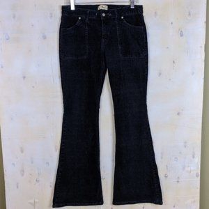 Roxy navy corduroy bell bottom pants size 29
